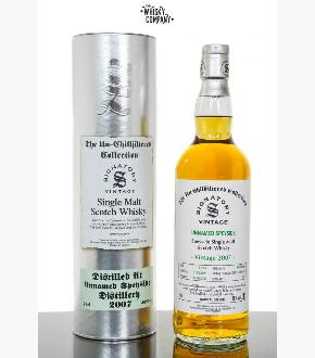 Signatory Vintage 2007 Unnamed Speyside 13 Single Cask #DRU17/A190#13