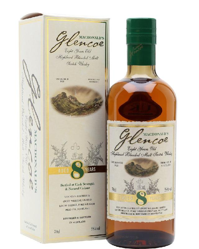 MacDonald's Glencoe 8 Cask Strength