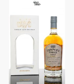 Cooper's Choice 1987 North British 32 Year Old Single Grain Scotch Whisky