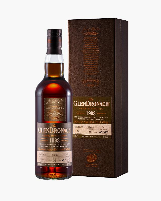 GlenDronach 1993 Single Cask #392 26 Australian Exclusive For The Whisky List