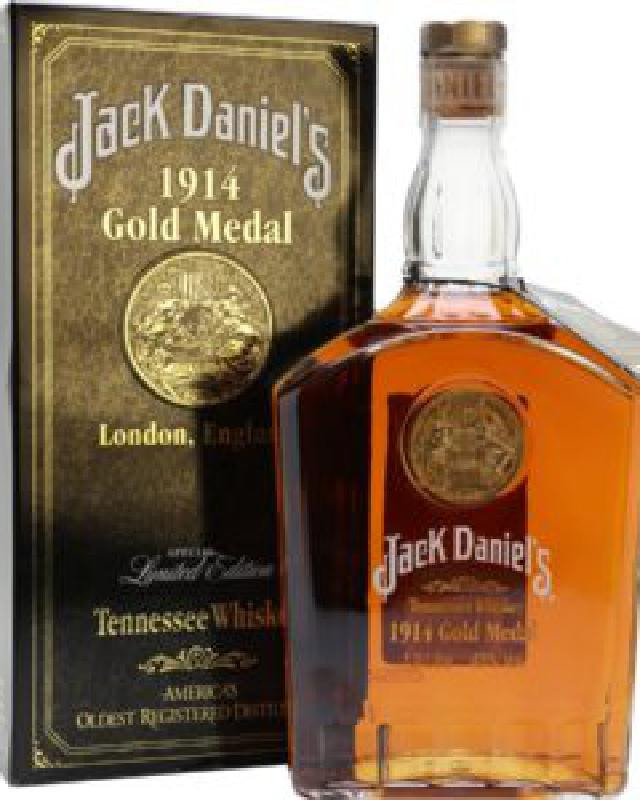 Jack Daniel's 1914 Gold Medal Tennessee Whiskey (1000ml)