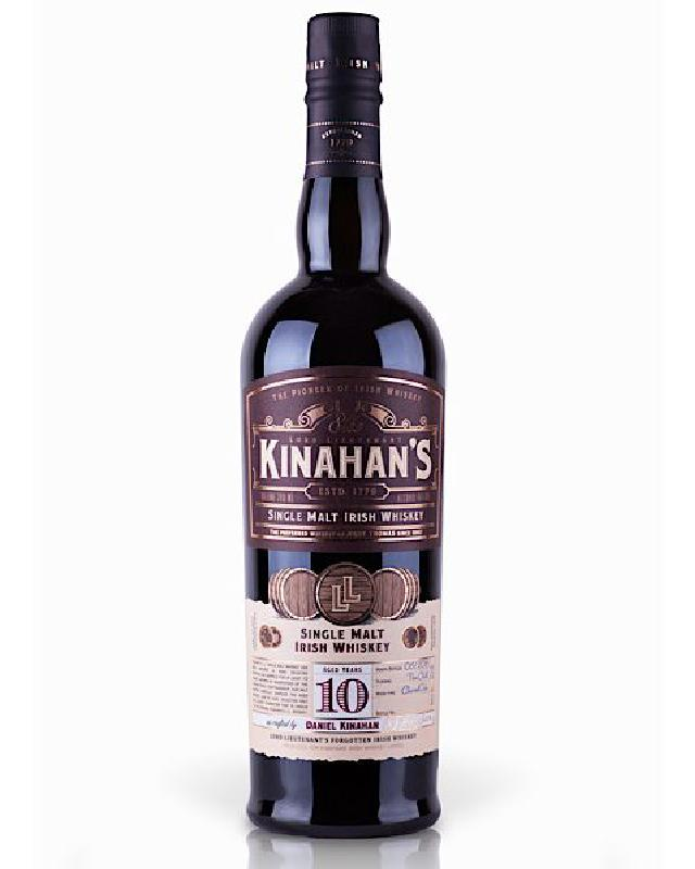 Kinahans 10 Year Old Irish Single Malt Whiskey