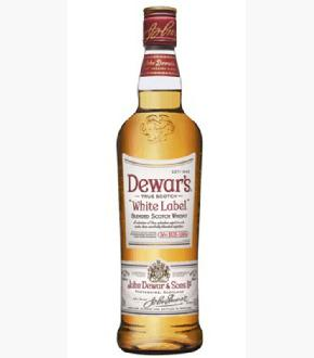 Dewar's White Label Blended Scotch Whisky (1000ml)