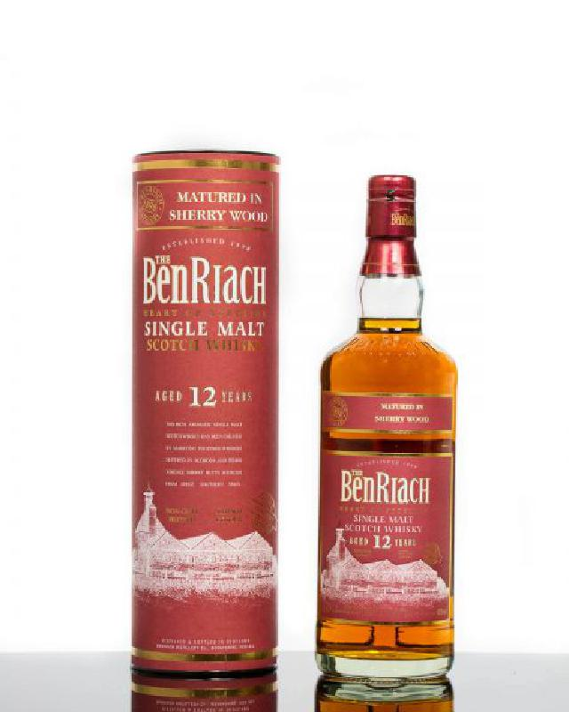 BenRiach 12 Sherry Matured Old Bottling
