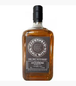 Cadenhead 1996 Loch Lomond 21 Year Old Single Malt Scotch Whisky