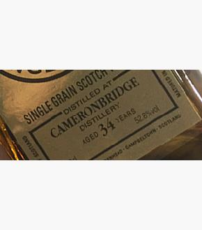 Cadenhead's 1984 Cameronbridge 34 Year Old Single Cask