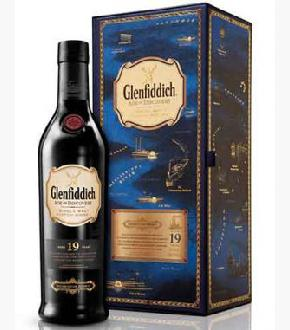 Glenfiddich 19 Year Old Age Of Discovery Bourbon Cask Single Malt Scotch Whisky