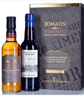 Tomatin 13 Cask Strength Whisky Meets Sherry Gift Set