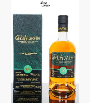GlenAllachie 10 Year Old Cask Strength Single Malt Scotch Whisky