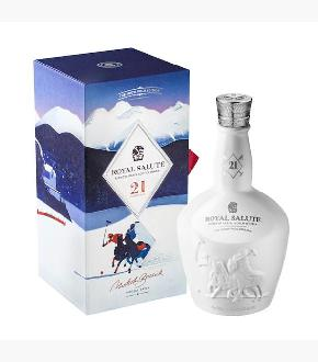 Chivas Royal Salute Snow Polo Edition 21 Year Old Blended Scotch Whisky