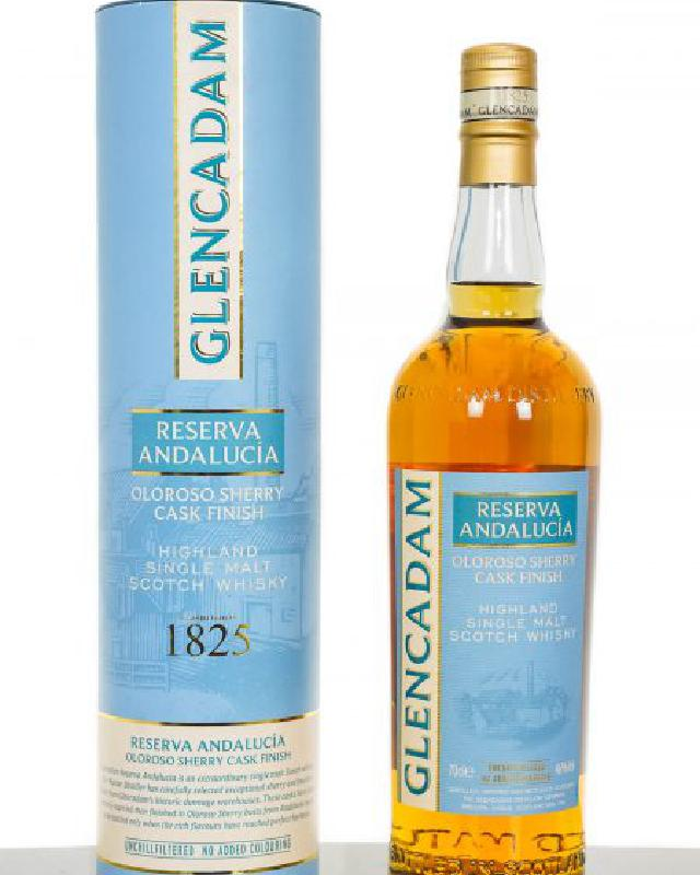 Glencadam Reserva Andalucia Oloroso Sherry Finish Single Malt Scotch Whisky