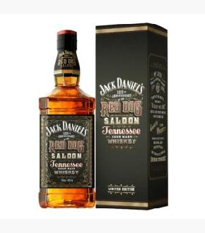 Jack Daniel's Red Dog Saloon 125th Anniversary Tennessee Whiskey
