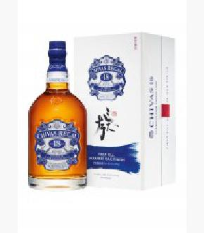 Chivas Regal 18 Year Old Japanese Oak Finish Blended Scotch Whisky (1000ml)