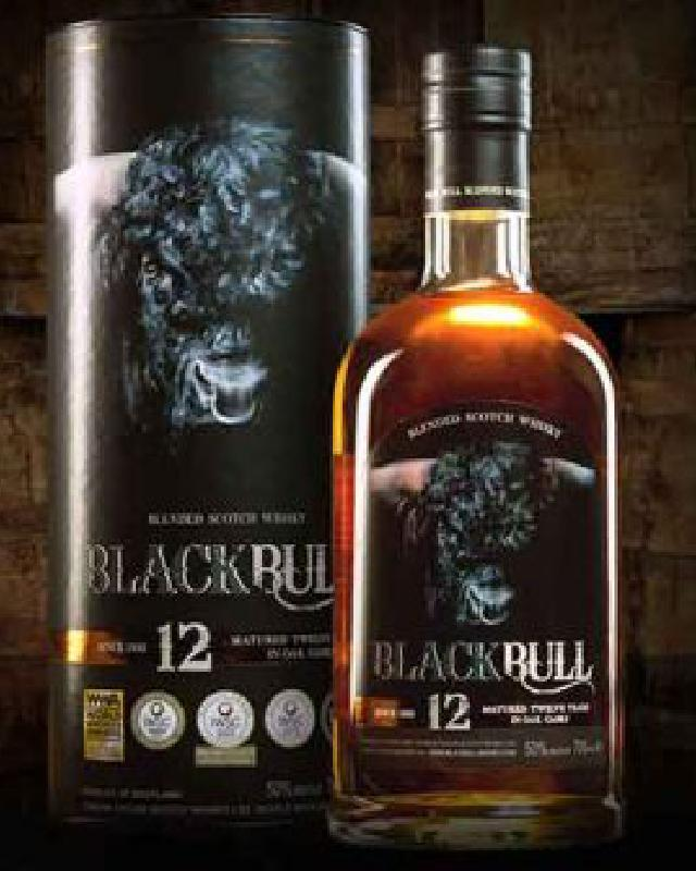 Black Bull 12 Year Old Blended Scotch Whisky