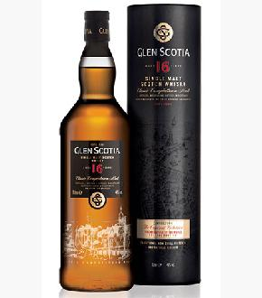 Glen Scotia 16 Year Old Single Malt Scotch Whisky (1000ml)