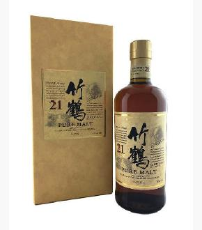 Nikka Taketsuru Pure Malt 21 Year Old Japanese Blended Malt Whisky