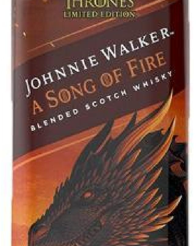 Johnnie Walker A Song of Fire Game of Thrones Edition
