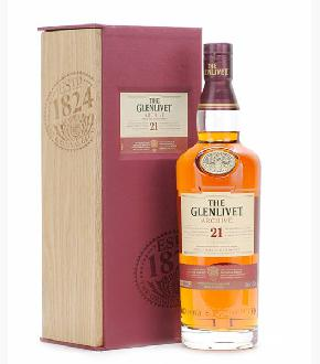 Glenlivet 21 Year Old Archive Single Malt Scotch Whisky