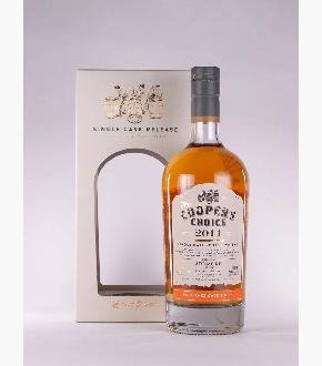 Cooper's Choice 2011 Ardmore 8 Year Old Single Cask Single Malt Scotch Whisky