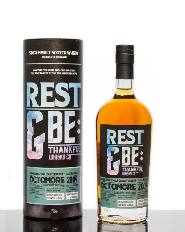 Rest & Be Thankful 2009 Bruichladdich Octomore Pauillac Cask 6 Year Old Single Malt Scotch Whisky