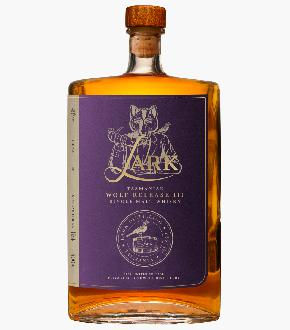 Lark Wolf Wolf of the Willows 3rd Edition Australian Single Malt Whisky (500ml)