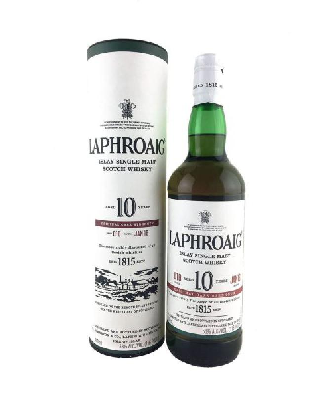 Laphroaig 10 Cask Strength Batch 010 (750ml)