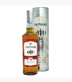 Seagram's 100 Pipers 12 Year Old Blended Scotch Whisky