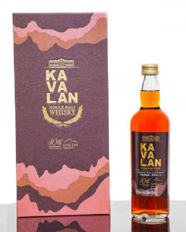 Kavalan 40th Anniversary Limited Edition (200ml)
