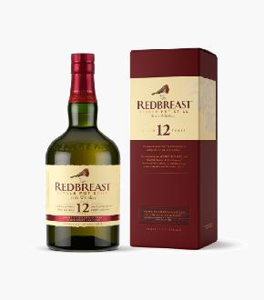 Redbreast 12 Year Old Irish Single Pot Still Whiskey