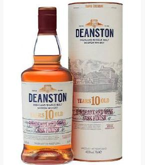 Deanston 10 Bordeaux Red Wine Cask Finish
