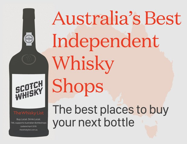 The Whisky (Store) List - WA